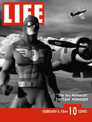 Captain Midnight Life Cover by jaypiscopo