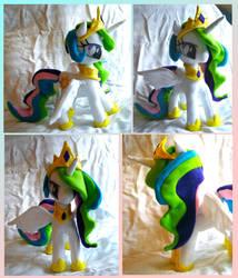 Princess Celestia Plush by dollphinwing