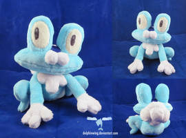Happy New Year from Froakie by dollphinwing