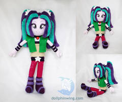Equestria Girls: Rainbow Rocks Aria Blaze Plushie by dollphinwing