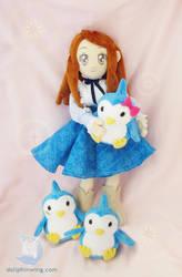 Himari Takakura Plush Doll by dollphinwing