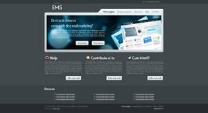 EMS website by anca-v
