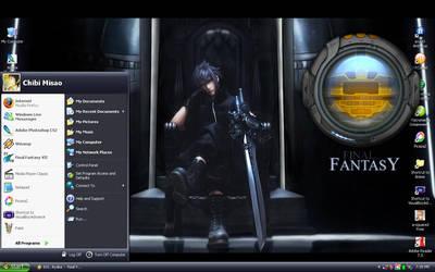 FF13 Desktop by chibimisao