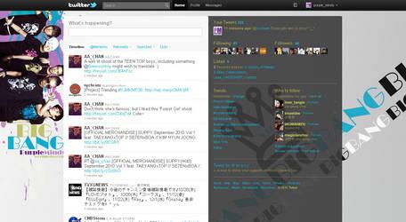 Twitter Layout - Big Bang v2 by chibimisao