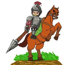 Horseman Dima by Uterlos