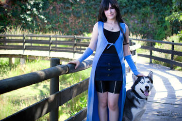 Rinoa and Angelo by Zulima-Cosplayer