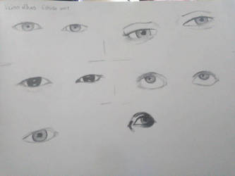 Old eye sketches by ScarlettCatson