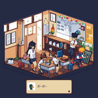 classroom by bapakguntur