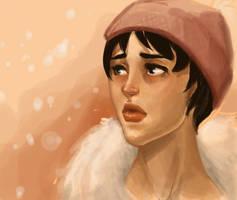 Winter Face by TwiggyMcBones