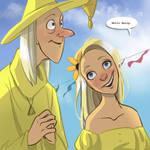 The Lovegoods: Wedding Attire by TwiggyMcBones