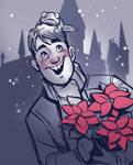 Holiday Longbottom by TwiggyMcBones