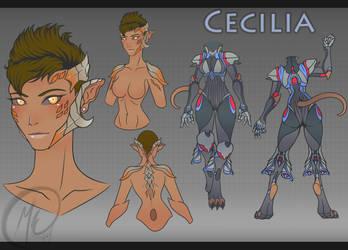 Cecilia Redesign by Meeche-Max