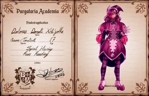 [PA] Student App: Lola Xoli'yolka by glitteronin