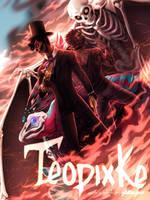 Comic Cover | T E O P I X K E by glitteronin