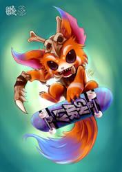 G N A R L Y by goldhedgehog