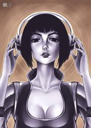 Headphones by goldhedgehog