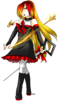 Scarlet Creda (Slightly Updated) by Jutsei