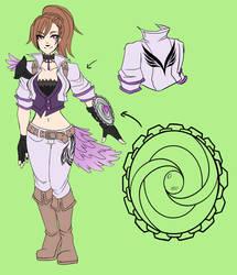 Farris Bloomville :Violet Alchemist: by Jutsei