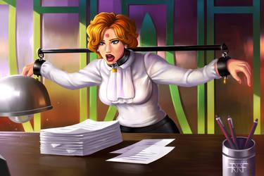 [Commission] Secretary. by RRFilustraciones