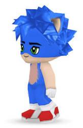 Sonic the BuddyPoke by BrazilianNut