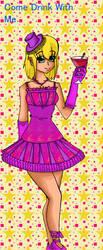 Mascot lady by purplebubble
