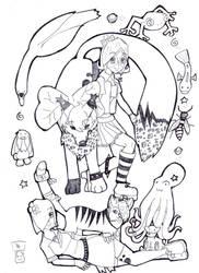 metamorphosis sketch by purplebubble