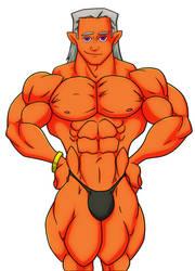 Jasper's Most Muscular by rssam000