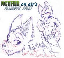 Mushi the 'Faux Furry' by ACTFuronair
