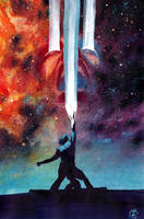 Adam Warlock AlternateCover MarcoRudy by xiconhoca