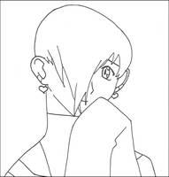 Tsugaru lineart :: Aww... by YamiKaosu