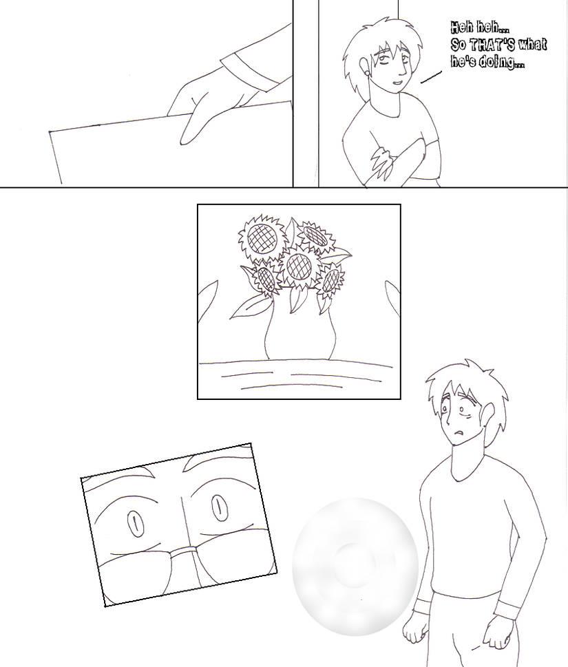 Go Fish Comic Lineart - Page 3 by YamiKaosu