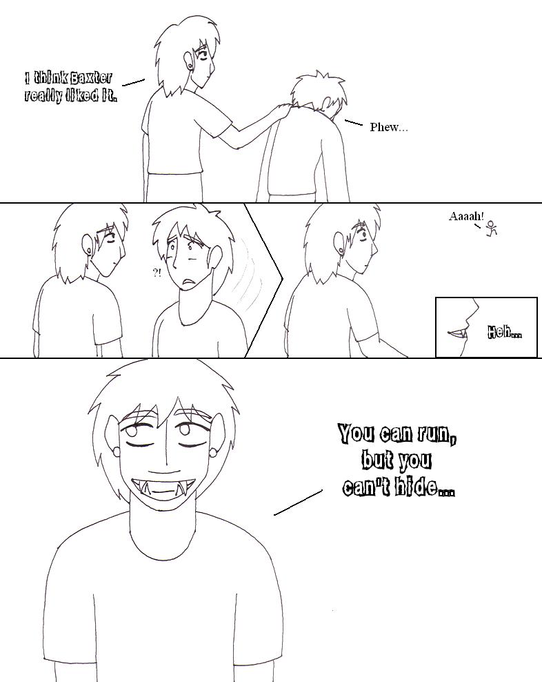 Go Fish Comic Lineart - Page 4 by YamiKaosu