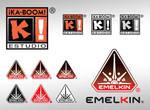 Logos de Ka-Boom y Emelkin by Blaster2501