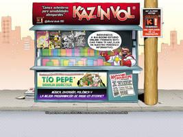 KAZ IN VOL Comics Virtuales by Blaster2501