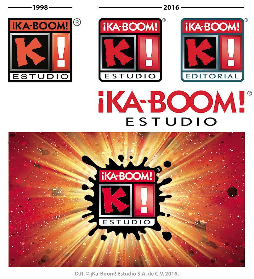 KaBoom new logo 2016 process-by-Blaster2501 by Blaster2501