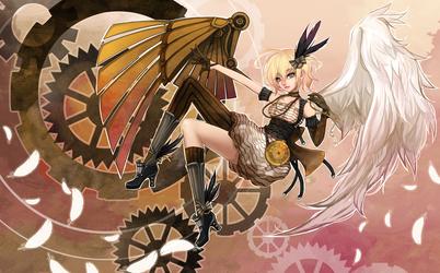 Commission : AceRailgun by JinkiMania