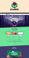 Zombeek Webdesign by Navvrat