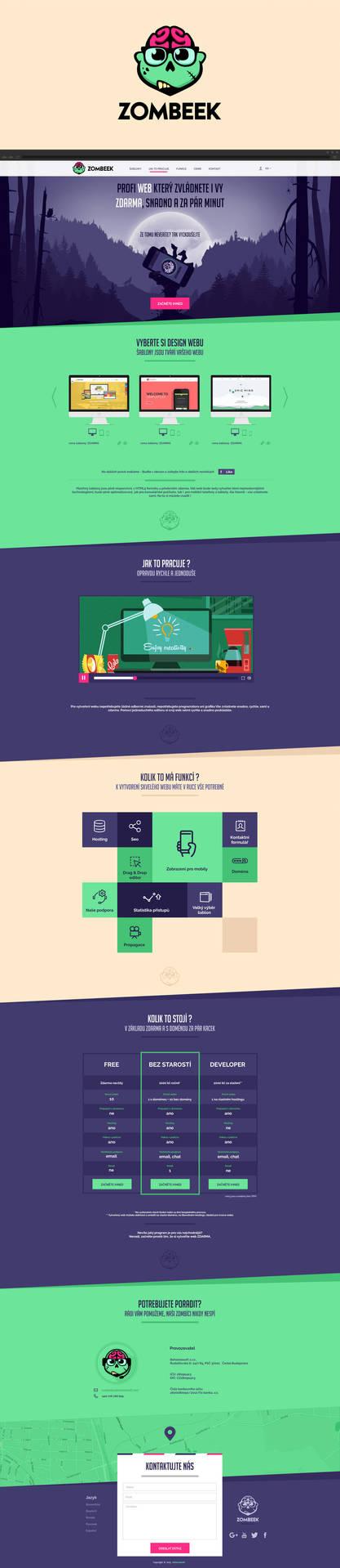 Zombeek Webdesign by Navvrat