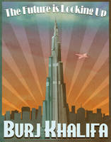 Dubai's Burj Khalifa Art Deco by Xander-son-of-Xereus
