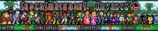 Super Smash Bros. Advance v2.0 by Xander-son-of-Xereus