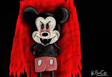 Creepy Mickey by NiBeCo