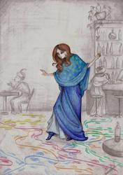 Lady Melamori by MrGro