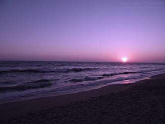 Beach Sunset by MissLadyMinx