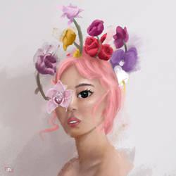 Girl in nature by JuanPSierra