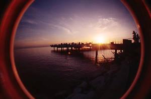 fisheye april - baywalk sunset by jcgepte