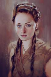 Sansa Stark by iartbilly