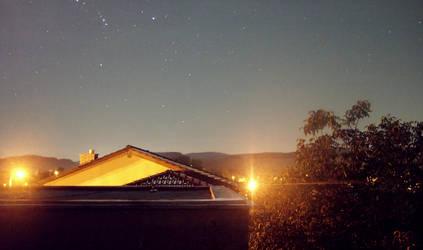 Night Sky in Autumn 2012 by wolfrayetstar