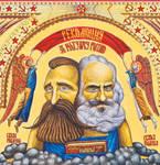 Iconostasis of Communism-detail by alexander982