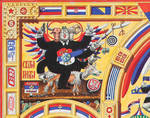 Iconostasis of Serbism- detail by alexander982