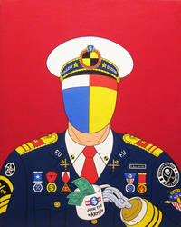 Conquering hero- acrylic on canvas 2014 by alexander982